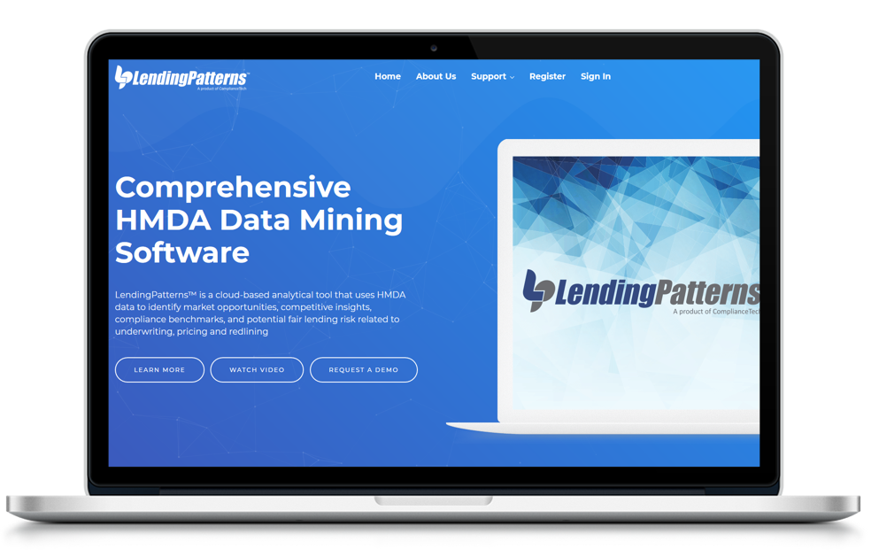 LendingPatterns Main Screen